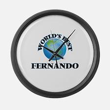 World's Best Fernando Large Wall Clock