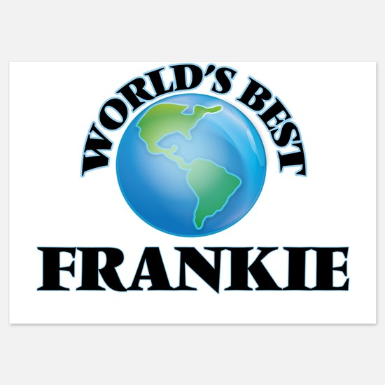 World's Best Frankie Invitations