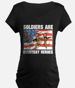 Soldiers are Heroes T-Shirt