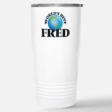 World's Best Fred Stainless Steel Travel Mug