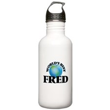 World's Best Fred Water Bottle