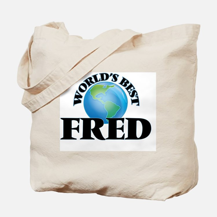 World's Best Fred Tote Bag