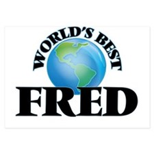 World's Best Fred Invitations