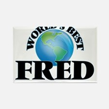 World's Best Fred Magnets