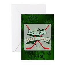 Happy Hockey Days! Chris Greeting Cards (Pk of 20)