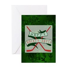 Happy Hockey Days! Christmas Greeting Card