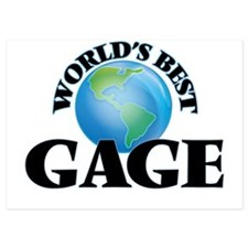 World's Best Gage Invitations