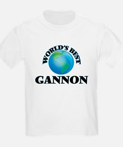 World's Best Gannon T-Shirt