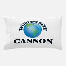 World's Best Gannon Pillow Case