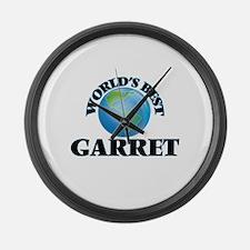 World's Best Garret Large Wall Clock