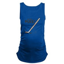 Get That Puck Maternity Tank Top