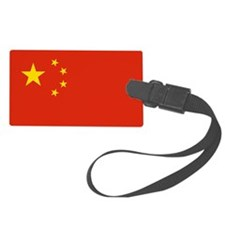 China Flag Luggage Tag