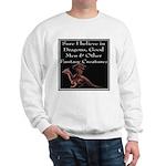 Sure I believe in Dragons Sweatshirt