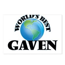 World's Best Gaven Postcards (Package of 8)