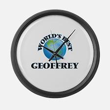 World's Best Geoffrey Large Wall Clock