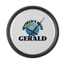 World's Best Gerald Large Wall Clock