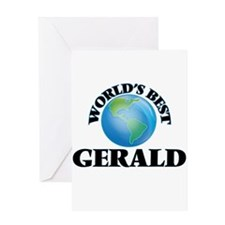 World's Best Gerald Greeting Cards