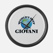 World's Best Giovani Large Wall Clock