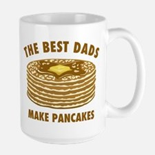 Best Dads Make Pancakes Large Mug