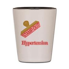 Hypertension Shot Glass
