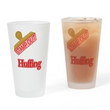 Huffing Drinking Glass