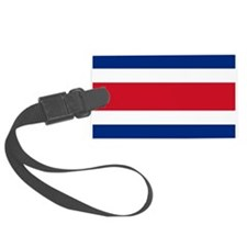 Costa Rica Flag Luggage Tag