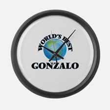 World's Best Gonzalo Large Wall Clock