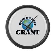 World's Best Grant Large Wall Clock