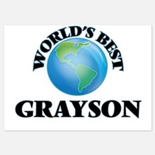 World's Best Grayson Invitations