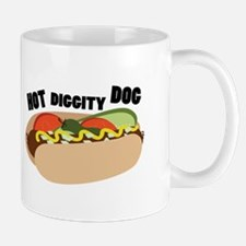 Hot Diggity Dog Mugs