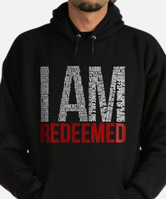 I Am Redeemed - Black/Red Hoody