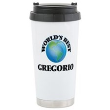World's Best Gregorio Travel Mug