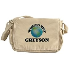 World's Best Greyson Messenger Bag