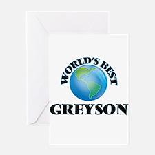 World's Best Greyson Greeting Cards