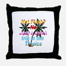 Hot Flash Throw Pillow