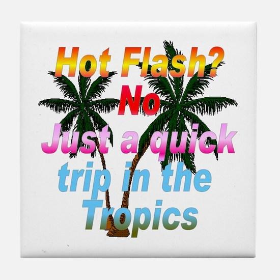 Hot Flash Tile Coaster