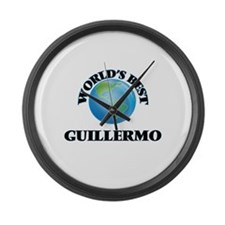 World's Best Guillermo Large Wall Clock