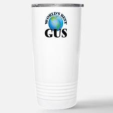 World's Best Gus Stainless Steel Travel Mug