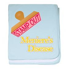 Menieres Disease baby blanket