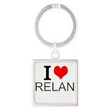 I Love Ireland Keychains