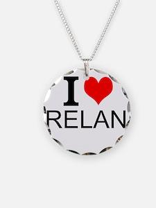 I Love Ireland Necklace