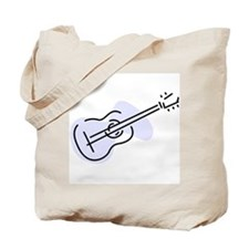 Acoustic Guitar Tote Bag (Blue)