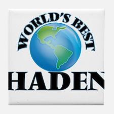 World's Best Haden Tile Coaster
