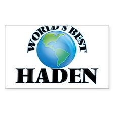 World's Best Haden Decal