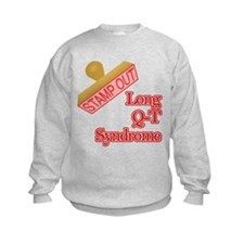 Long Q-T Syndrome Sweatshirt