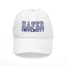 HAFER University Baseball Cap
