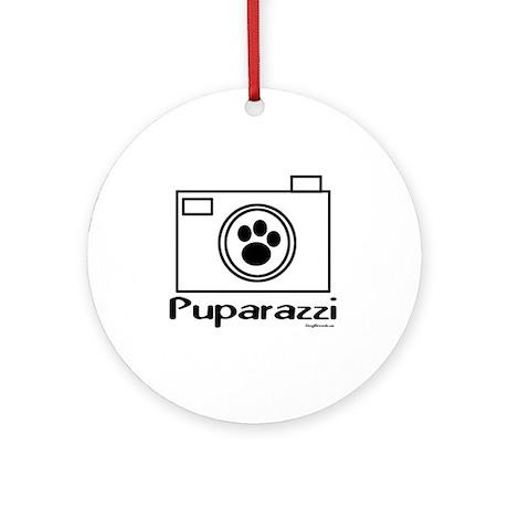 Puparazzi Ornament (Round)