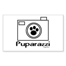 Puparazzi Rectangle Decal