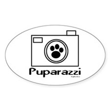 Puparazzi Oval Decal