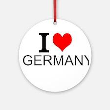 I Love Germany Ornament (Round)